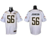 Nike Kansas City Chiefs #56 Derrick Johnson White 2016 Pro Bowl Men\'s Stitched NFL Elite Jersey