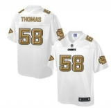 Nike Kansas City Chiefs #58 Derrick Thomas White Men\'s NFL Pro Line Fashion Game Jersey