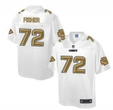 Nike Kansas City Chiefs #72 Eric Fisher White Men\'s NFL Pro Line Fashion Game Jersey