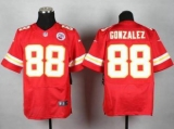 Nike Kansas City Chiefs #88 Tony Gonzalez Red Team Color NFL Elite Jersey