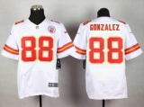 Nike Kansas City Chiefs #88 Tony Gonzalez White NFL Elite Jersey