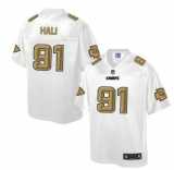 Nike Kansas City Chiefs #91 Tamba Hali White Men\'s NFL Pro Line Fashion Game Jersey