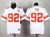 Nike Kansas City Chiefs #92 Dontari Poe White NFL Elite Jersey