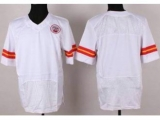 Nike Kansas City Chiefs Blank White Elite NFL Jerseys