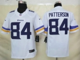 Nike Vikings #84 Cordarrelle Patterson White Men\'s Stitched NFL Limited Jersey