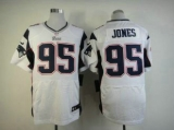 Nike Patriots #95 Chandler Jones White Men\'s Stitched NFL Elite Jersey