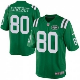 Nike New York Jets #80 Wayne Chrebet Green Men\'s Stitched NFL Elite Rush Jersey