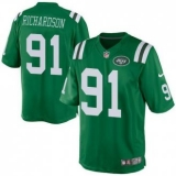 Nike New York Jets #91 Sheldon Richardson Green Men\'s Stitched NFL Elite Rush Jersey