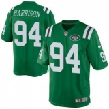 Nike New York Jets #94 Damon Harrison Green Men\'s Stitched NFL Elite Rush Jersey