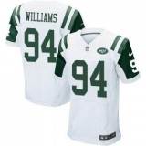 Nike New York Jets #94 Leonard Williams White Men\'s Stitched NFL Elite Jersey