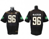 Nike New York Jets #96 Muhammad Wilkerson Black 2016 Pro Bowl Men\'s Stitched NFL Elite Jersey