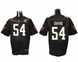 Nike Tampa Bay Buccaneers #54 Lavonte David Black 2016 Pro Bowl Men\'s Stitched NFL Elite Jersey