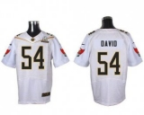 Nike Tampa Bay Buccaneers #54 Lavonte David White 2016 Pro Bowl Men\'s Stitched NFL Elite Jersey