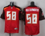 Nike Tampa Bay Buccaneers #58 Kwon Alexander Red Team Color Men\'s Stitched NFL New Elite Jersey