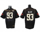 Nike Tampa Bay Buccaneers #93 Gerald McCoy Black 2016 Pro Bowl Men\'s Stitched NFL Elite Jersey