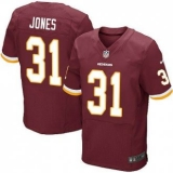 Nike Washington Redskins #31 Matt Jones Burgundy Red Team Color Men\'s Stitched NFL Elite Jersey