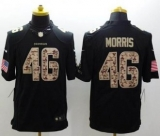 Nike Washington Redskins #46 Alfred Morris Black NFL Limited Salute to Service jersey