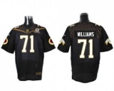 Nike Washington Redskins #71 Trent Williams Black 2016 Pro Bowl Men\'s Stitched NFL Elite Jersey