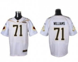 Nike Washington Redskins #71 Trent Williams White 2016 Pro Bowl Men\'s Stitched NFL Elite Jersey