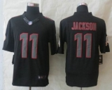 Washington Red Skins #11 DeSean Jackson Impact Limited Black Jerseys