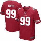 Nike San Francisco 49ers Jersey #99 Aldon Smith Red Elite Home Jersey
