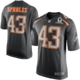Philadelphia Eagles #43 Darren Sproles Gray 2015 Pro Bowl NFL Game Team Irvin Jersey