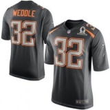 San Diego Chargers #32 Eric Weddle Gray 2015 Pro Bowl NFL Game Team Irvin Jersey
