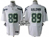 NEW SeNEW Seahawks #89 Doug Baldwin White Super Bowl XLVIII NFL Elite Jersey