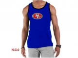Nike NFL San Francisco 49ers Sideline Legend Authentic Logo men Tank Top Blue