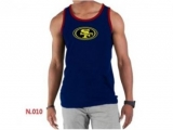 Nike NFL San Francisco 49ers Sideline Legend Authentic Logo men Tank Top D Blue 6