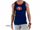 Nike NFL San Francisco 49ers Sideline Legend Authentic Logo men Tank Top D Blue