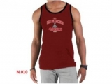 Nike NFL San Francisco 49ers Sideline Legend Authentic Logo men Tank Top Red 4