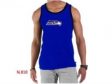 Nike NFL Seattle Seahawks Sideline Legend Authentic Logo men Tank Top Blue