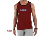Nike NFL Seattle Seahawks Sideline Legend Authentic Logo men Tank Top Red