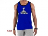 Nike NFL Sideline Legend Authentic Logo men Tank Top Blue 2