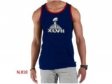 Nike NFL Sideline Legend Authentic Logo men Tank Top D Blue 2