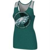 Women Philadelphia Eagles Big & Tall Primary Logo Green Tank Top