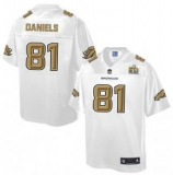 Youth Nike Broncos #81 Owen Daniels White NFL Pro Line Super Bowl 50 Fashion Game Jersey