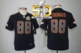 Youth Nike Denver Broncos #88 Demaryius Thomas Black Impact Super Bowl 50 Stitched NFL Limited Jersey