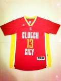 NBA Houston Rockets #13 red jerseys-Clutch City