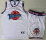 Space Jam Tune Squad #1 Bugs White Stitched Basketball Jersey
