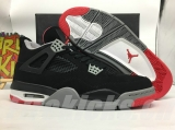 (Not in stock)Super Max Perfect Air Jordan 4 Black Red