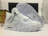 "Authentic Air Jordan 4 ""Pure Money """