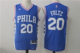 Philadelphia 76ers #20 blue new NBA Jersey