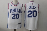 Philadelphia 76ers #20 white new NBA Jersey