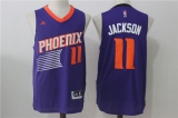 Phoenix Suns #11 Charles Barkley Purple Stitched NBA Jersey