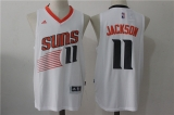 Phoenix Suns #11 Charles Barkley white new NBA Jersey