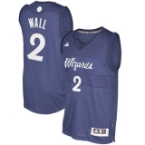 Washington Wizards #2 John Wall Blue 2016-2017 Christmas Day Stitched NBA Jersey