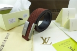 Super Max Perfect LV Belts 100-125CM -QQ (63)