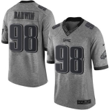 Nike Philadelphia Eagles #98 Connor Barwin Gray Men\'s Stitched NFL Limited Gridiron Gray Jersey